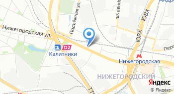 Частный детектив в Москве на карте
