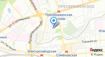 Центр Переезд на карте