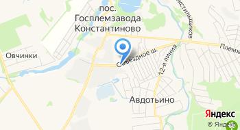 Гараж ЦК КПСС на карте