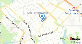Московское УПП № 8 ВОС на карте