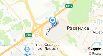 Московский газоперерабатывающий завод на карте