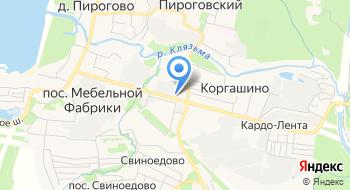 Теннисный клуб Пироговский на карте