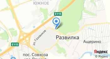 Курьерская служба доставки на карте