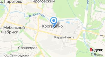 Рыбалка Пирогово на карте