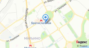 Бюро переводов на Братиславской на карте