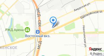 Московский Дом Моды Головных Уборов на карте