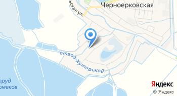 Шапариевский, СПК на карте