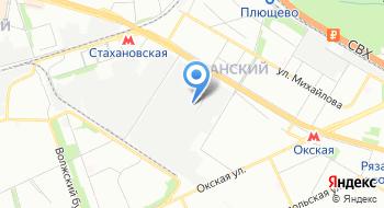 Офисная мебель в Волгограде и в Москве на карте