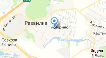 Управление МосЖД на карте