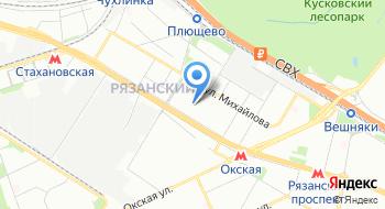 Геоиннотех МГУ на карте