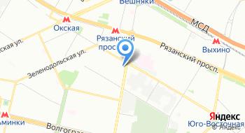 Интернет-магазин Bukety-vip, пункт выдачи на карте