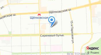 Автошкола в ВАО на карте