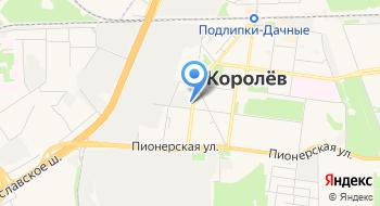 Королёвские городские бани на карте