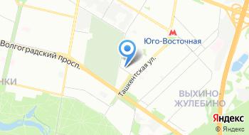 Учебно-спортивный центр Юго-Восточного административного округа города Москвы на карте