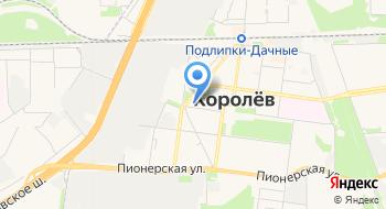 Администрация г. Королёва, отдел наукограда на карте