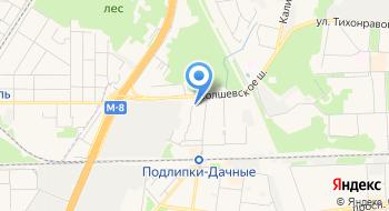 Поликлиническое отделение №2 Городской больницы №1 г. Королёва на карте