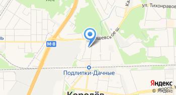 Центр занятости населения города Королёв на карте