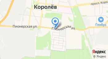 Московский областной учебно курсовой комбинат автомобильного транспорта на карте