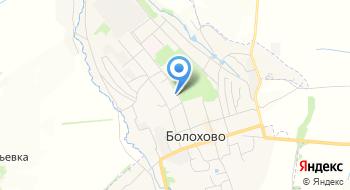 Газпром газораспределение Тула, участок филиала в г. Богородицке Болоховская газовая служба на карте