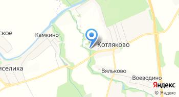 Гостиница Меридиан-Домодедово на карте