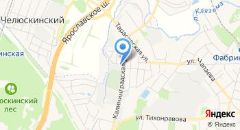 Геодезист-центр на карте