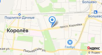 Радиотрансляционная Сеть Моск. области: Королёвский Участок Проводного Вещания на карте
