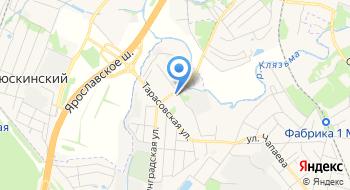 Королевская шелковая фабрика Передовая текстильщица на карте