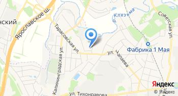 Общежитие Московского государственного областного университета на карте