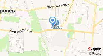 Летак на карте