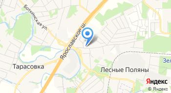 Тойота лексус Пушкино на карте