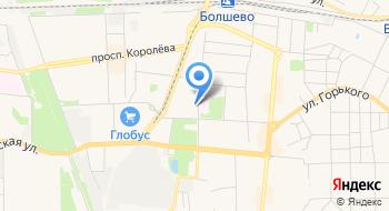 Пансионат для пожилых Ярославский на карте