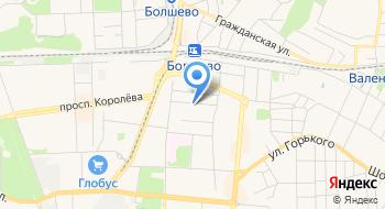 Ремонтный участок на карте