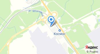 Домодедовская Таможня на карте