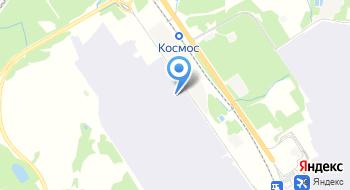 Гостиница Меридиан в Домодедово на карте