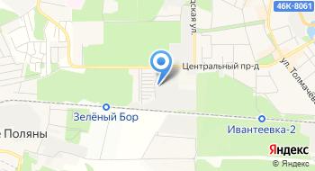 Центртехкомплект, склад на карте
