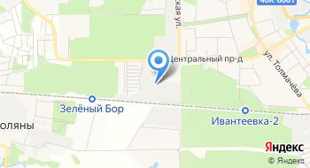 Завод ЖБК на карте