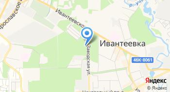 Ивантеевский лесопитомник на карте