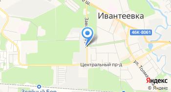 Завод емкостного и резервуарного оборудования Дано на карте