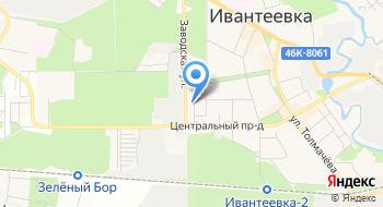 Автострахование Ивантеевка на карте