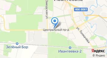 Витэс на карте
