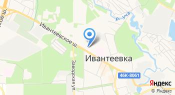 Физкультурно-оздоровительный комплекс Олимп Города Ивантеевки на карте