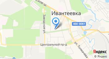 МБОУ ДОД Детская музыкальная школа города Ивантеевка на карте