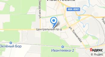 Городского Округа управление Капитального Строительства г. Ивантеевки на карте