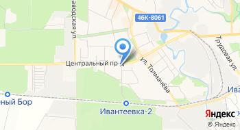 Научно-производственный медицинский центр Ива на карте