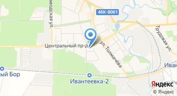 Ивантеевская локальная сеть на карте