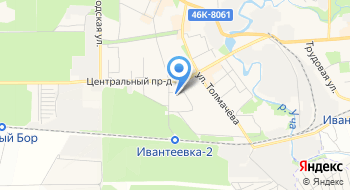 Соты на карте