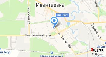 Ивантеевка такси на карте