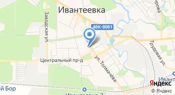 Шугаринг Alexandria Ивантеевка на карте