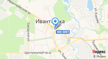 Г. Ивантеевка центр Развития Ребенка - детский сад №19 Солнышко на карте