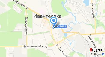 Такси Ивантеевка на карте